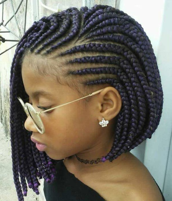 40 Braided Bob Hairstyle Ideas (Trending In September 2019) With Most Current Purple Pixies Bob Braid Hairstyles (View 6 of 25)