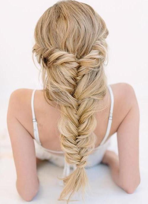 40 Classy Hairstyles For Long Blonde Hair | Hairstyles Within 2018 Elegant Blonde Mermaid Braid Hairstyles (View 13 of 25)