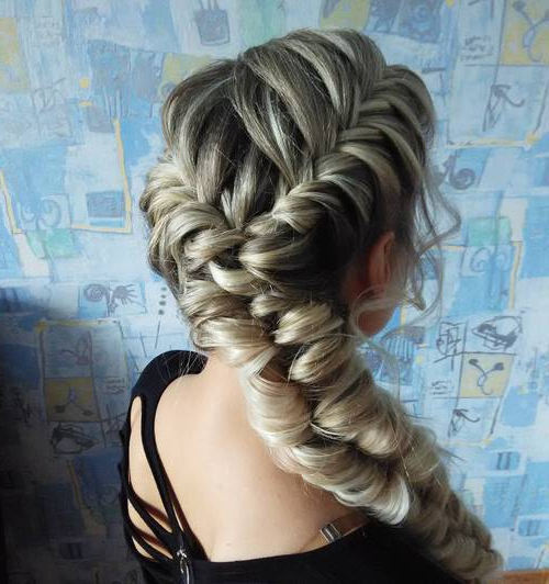 40 Flirty And Fantastic Two French Braid Hairstyles – Page within Most Recently Thick Two Side Fishtails Braid Hairstyles