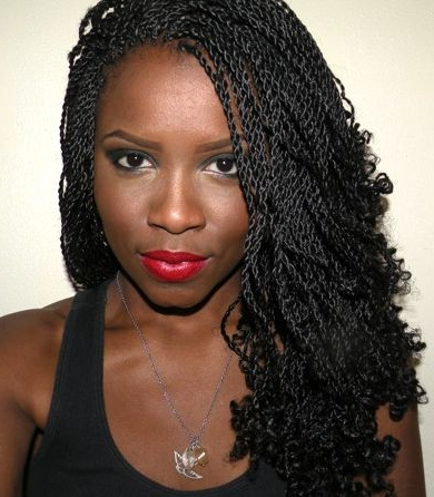 40 Micro Braids Hairstyles | Herinterest/ pertaining to Most Recent Red And Brown Micro Braid Hairstyles