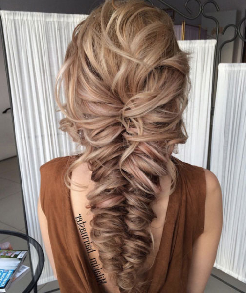 40 Super Cute Braided Hairstyles For Teenage Girls - Style for Latest Mermaid Braid Hairstyles With A Fishtail