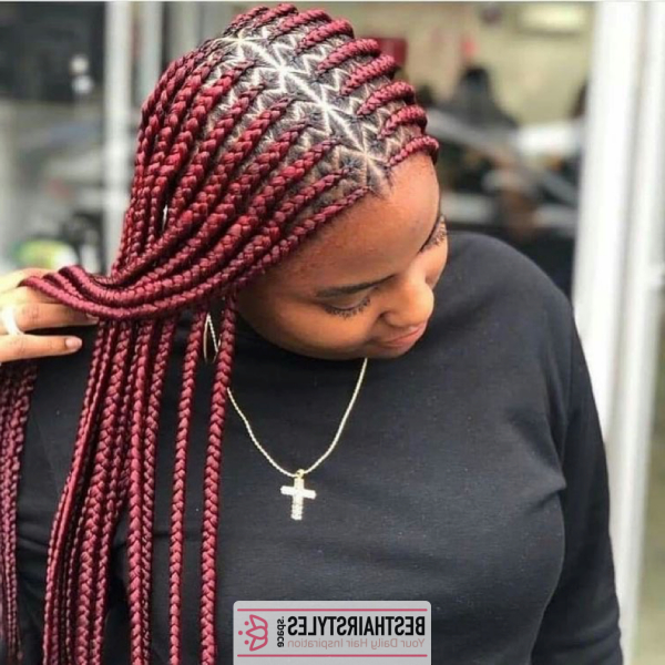 42 Catchy Cornrow Braids Hairstyles Ideas To Try In 2019 with Most Up-to-Date Extravagant Under Braid Hairstyles