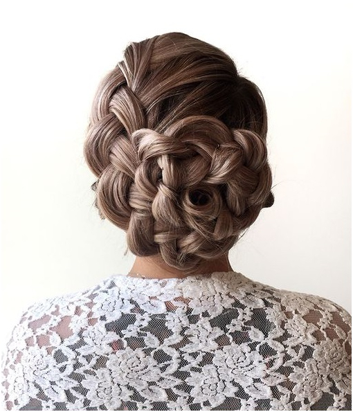42 Easy Updos For Long Hair That Will Blow Your Mind Within Most Up To Date Softly Pulled Back Braid Hairstyles (View 16 of 25)