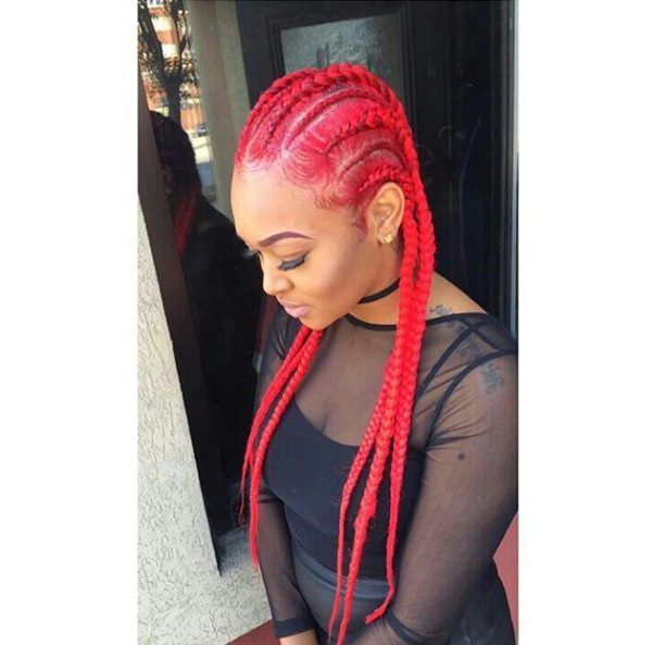 43 New Feed In Braids And How To Do It - Style Easily pertaining to Newest Colorful Cornrows Under Braid Hairstyles