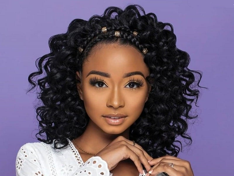 45 Crochet Braids Hairstyles You Can't Miss (2019 Update) regarding Latest Crochet Micro Braid Hairstyles Into Waves