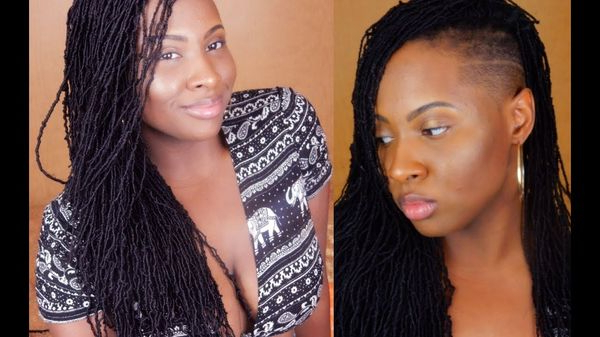 45 Micro Braids Styles To Upgrade Your Hairstyle (Trending in Newest Side Design Micro Braid Hairstyles