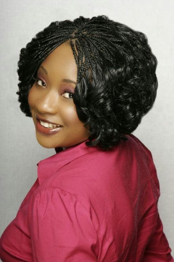 45 Micro Braids Styles To Upgrade Your Hairstyle (Trending inside Latest Wet And Wavy Micro Braid Hairstyles