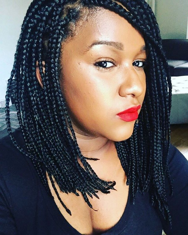 45 Micro Braids Styles To Upgrade Your Hairstyle (Trending pertaining to Most Up-to-Date Twists Micro Braid Hairstyles With Curls