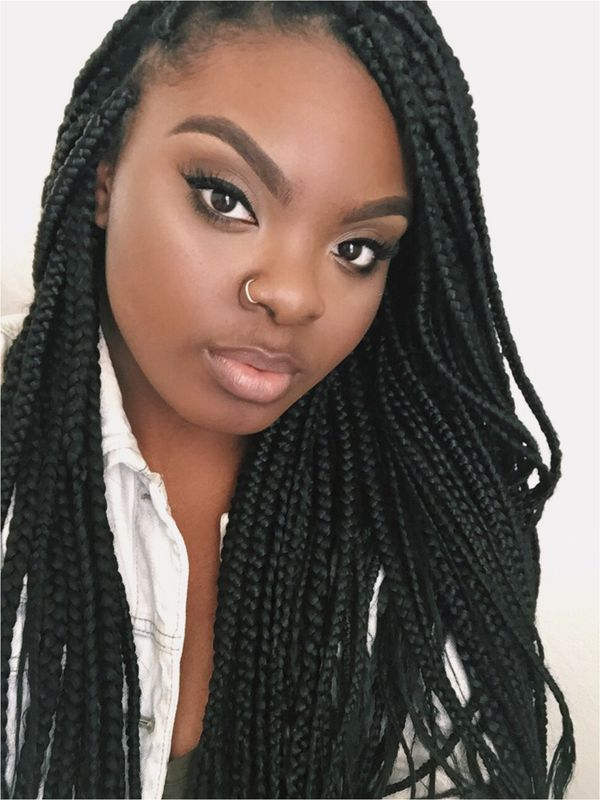 45 Micro Braids Styles To Upgrade Your Hairstyle (Trending regarding Most Recently Sleek And Long Micro Braid Hairstyles