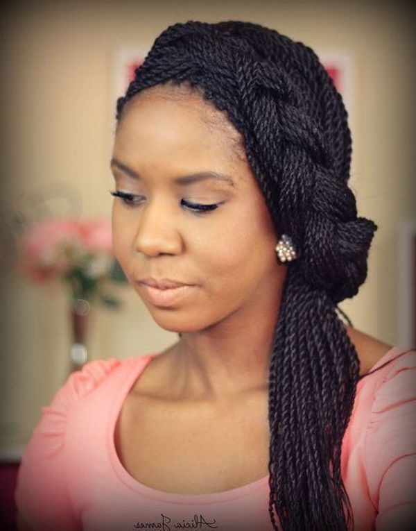 45 Micro Braids Styles To Upgrade Your Hairstyle (Trending Throughout Most Popular Long Micro Box Braid Hairstyles (View 21 of 25)