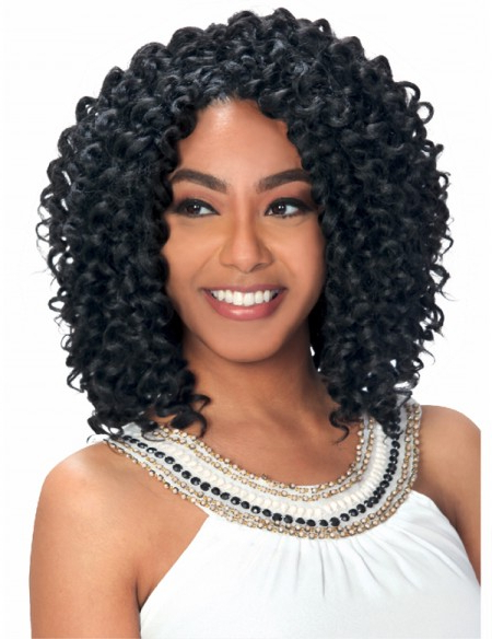 47 Beautiful Crochet Braid Hairstyle You Never Thought Of Before in Most Popular Curly And Messy Micro Braid Hairstyles