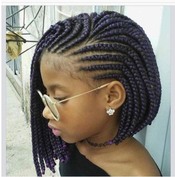47 Of The Most Inspired Cornrow Hairstyles For 2019 With Regard To 2018 Stylishly Swept Back Braid Hairstyles (View 13 of 25)