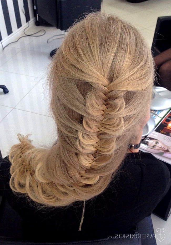 5 Pretty Braided Hairstyles For Prom | Fashionisers© With Most Popular Mermaid Braid Hairstyles With A Fishtail (View 15 of 25)
