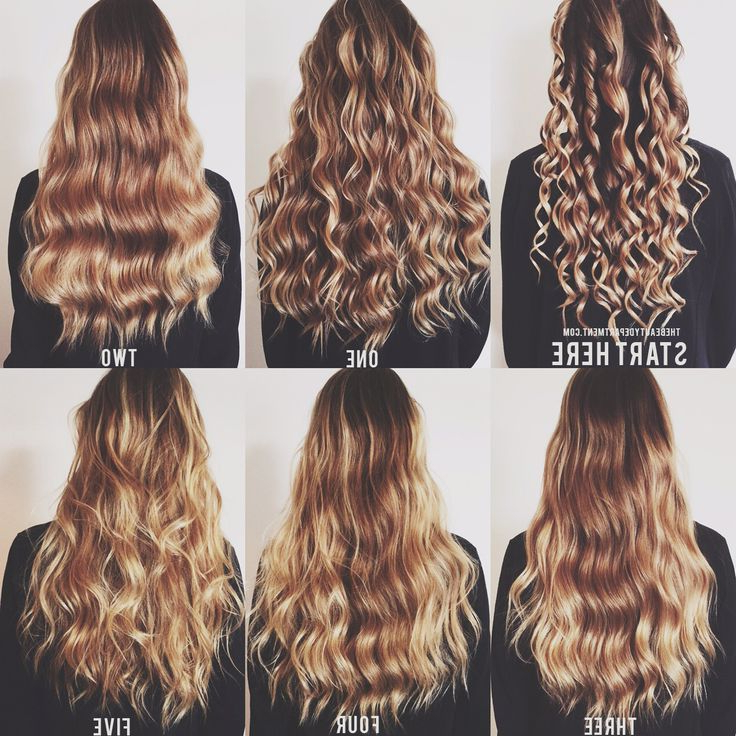 5 Ways To Wand Waves | Hair | Hair Styles, Curly Hair Styles For Latest Forward Braided Hairstyles With Hair Wrap (View 5 of 25)