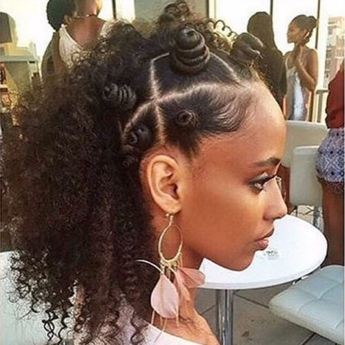 50 Beautiful Bantu Knots Ideas To Inspire You   Hair Motive With Latest Bantu Knots And Beads Hairstyles (View 10 of 25)