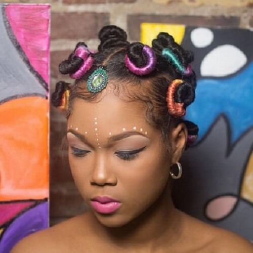 50 Beautiful Bantu Knots Ideas To Inspire You   Hair Motive With Recent Bantu Knots And Beads Hairstyles (View 9 of 25)