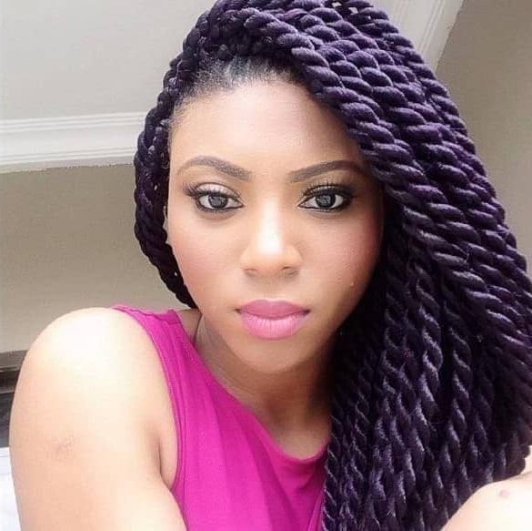 50 Beautiful Ways To Wear Twist Braids For All Hair Textures For Most Up To Date Pink Rope Braided Hairstyles (View 14 of 25)
