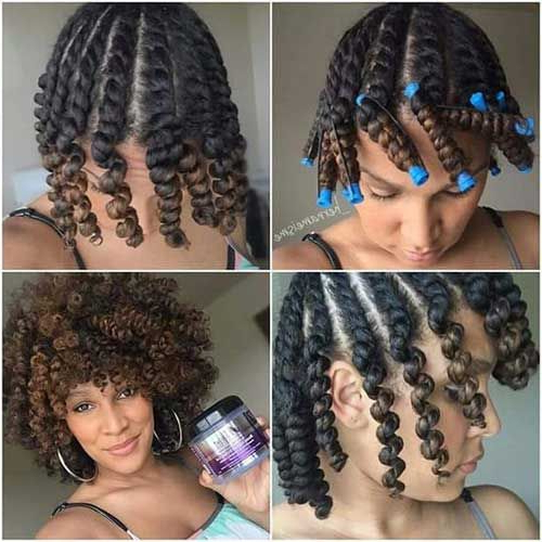50+ Best Short Curly Hairstyles For Black Women | Black Girl With Regard To Latest Wavy Bob Hairstyles With Twists (View 3 of 25)