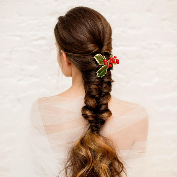 50 Braided Wedding Hairstyles We Love For Latest Elegant Blonde Mermaid Braid Hairstyles (View 11 of 25)