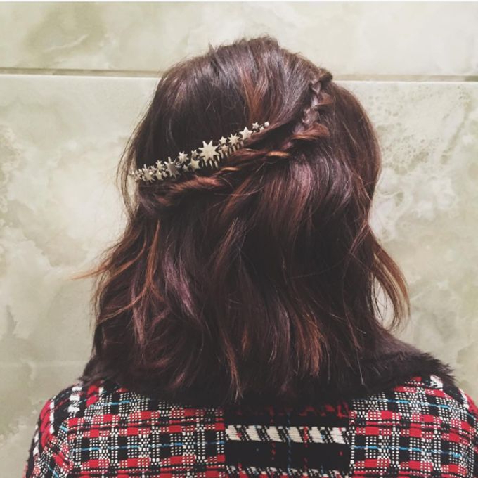 50 Braided Wedding Hairstyles We Love Inside Most Current Brown Woven Updo Braid Hairstyles (View 18 of 25)
