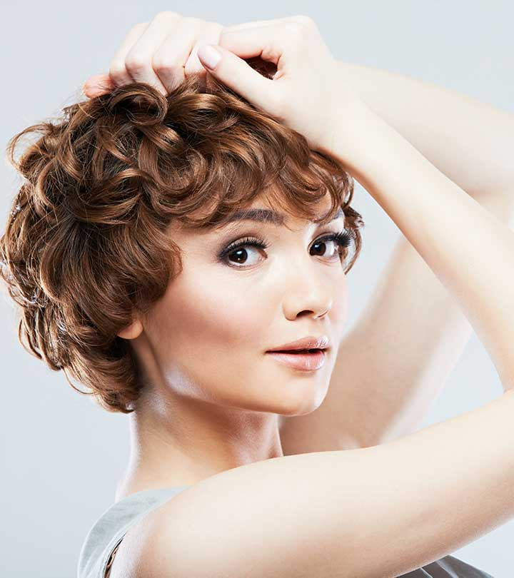 50 Chic Curly Bob Hairstyles – With Images And Styling Tips Throughout Most Recently Simple, Chic And Bobbed Hairstyles (View 21 of 25)