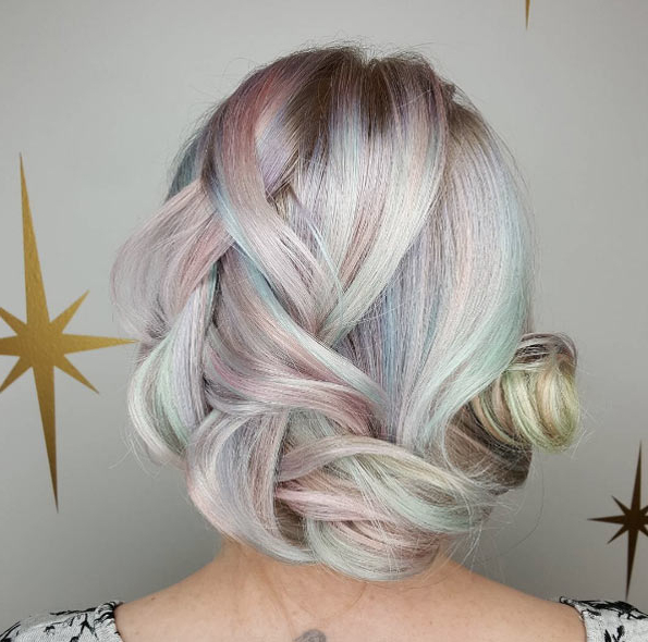 50 Enchanting Metallic Pastel Hair Color Ideas – Style Skinner With Most Recent Mermaid Inception Braid Hairstyles (View 19 of 25)