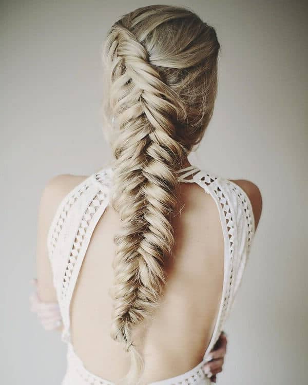 50 Gorgeous Braids Hairstyles For Long Hair For 2018 Over The Shoulder Mermaid Braid Hairstyles (View 10 of 25)