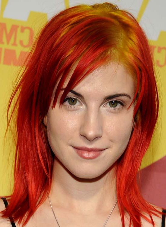 50 Hair Color Styles To Rock In 2019 Pertaining To Most Recently Red, Orange And Yellow Half Updo Hairstyles (View 14 of 25)