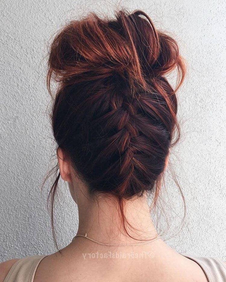 50 Inspiring Ideas For French Braids That Stand Out In 2019 Pertaining To Most Recent Softly Pulled Back Braid Hairstyles (View 25 of 25)