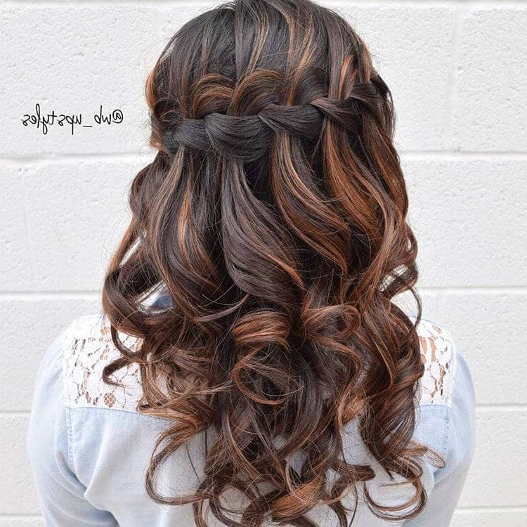 50 Inspiring Ideas For French Braids That Stand Out In 2019 With Regard To Most Recently Softly Pulled Back Braid Hairstyles (View 7 of 25)