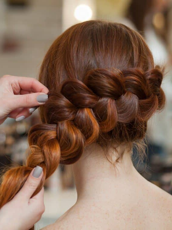 50 Inspiring Ideas For French Braids That Stand Out In 2019 Within Recent Stylishly Swept Back Braid Hairstyles (View 17 of 25)