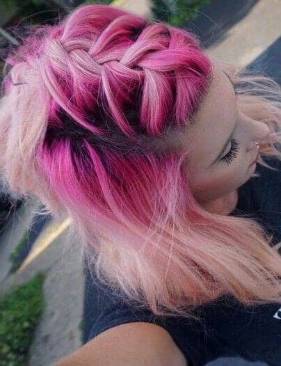 50 Magical Ways To Style Mermaid Hair For Every Hair Type Regarding Best And Newest Cotton Candy Colors Blend Mermaid Braid Hairstyles (View 17 of 25)
