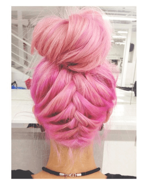 50 Magical Ways To Style Mermaid Hair For Every Hair Type With 2018 Cotton Candy Colors Blend Mermaid Braid Hairstyles (View 21 of 25)
