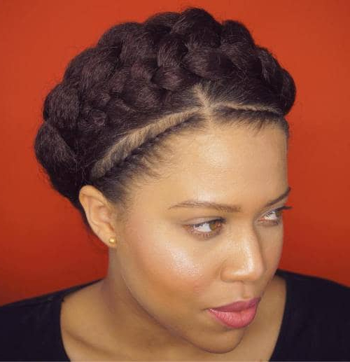 50 Natural Goddess Braids To Bless Ethnic Hair In 2019 With Regard To Most Current Black Crown Under Braid Hairstyles (View 7 of 25)