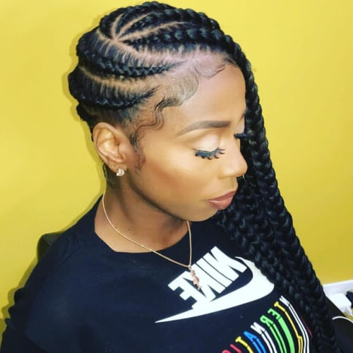 50 Protective Hairstyles For Natural Hair For All Your Needs Within Most Recent Natural Protective Bun Micro Braid Hairstyles (View 9 of 25)