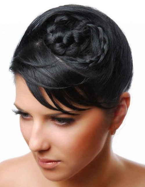 50 Superb Black Wedding Hairstyles | Hairstyles | Short For Most Popular Whirlpool Braid Hairstyles (View 9 of 25)