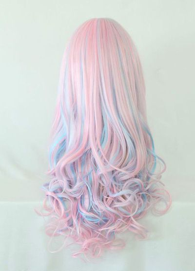 50 Sweeet Cotton Candy Hair Ideas That Are As Aye Pleasing Intended For Current Cotton Candy Colors Blend Mermaid Braid Hairstyles (View 16 of 25)