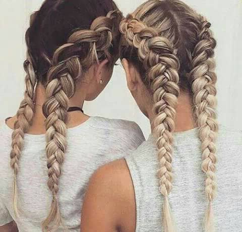 50 Trendy Dutch Braids Hairstyle Ideas To Keep You Cool In 2019 Regarding Current Long Hairstyles With Multiple Braids (View 25 of 25)