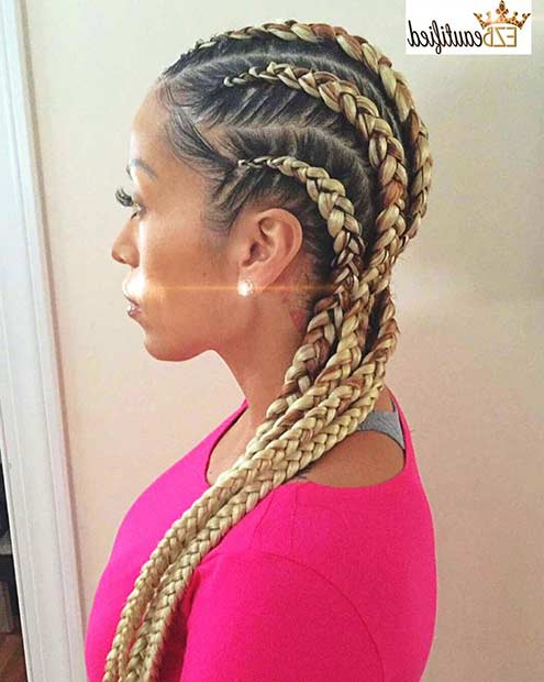 51 Best Ghana Braids Hairstyles   Page 3 Of 5   Stayglam In Most Recently Chunky Ghana Braid Hairstyles (View 11 of 25)