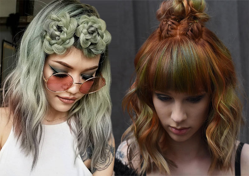 51 Cute Braids For Short Hair: Short Braided Hairstyles For Throughout Latest Braid Hairstyles With Braiding Bangs (View 13 of 25)