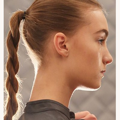 51 New Hair Ideas To Try In 2017   Allure Intended For Best And Newest Partial Updo Rope Braids With Small Twists (View 17 of 25)
