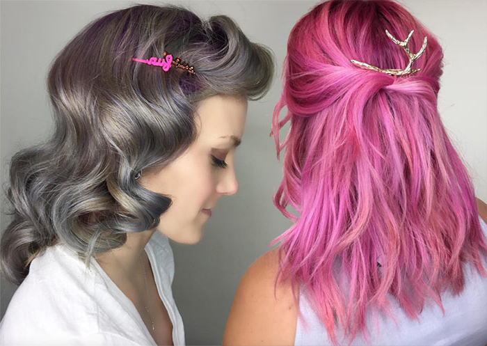 51 Pretty Holiday Hairstyles For Every Christmas Outfit Intended For Most Current Blue Sunset Skinny Braided Hairstyles (View 8 of 25)