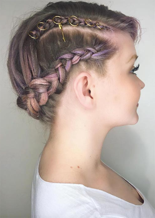 51 Pretty Holiday Hairstyles For Every Christmas Outfit Within Most Up To Date Tight Braided Hairstyles With Headband (View 2 of 25)