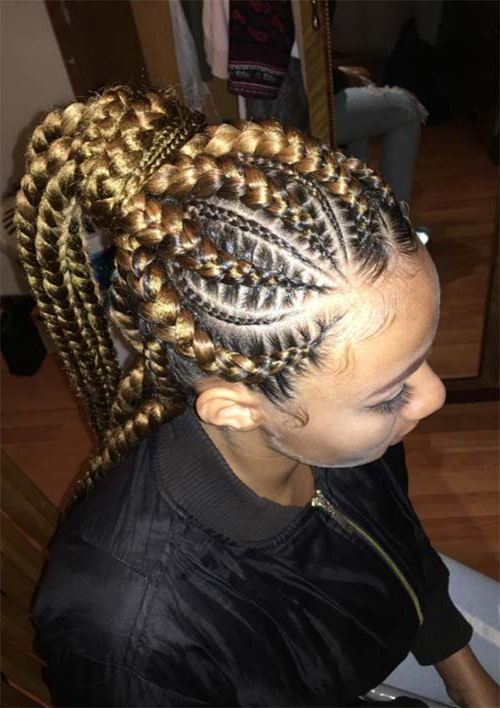 53 Goddess Braids Hairstyles – Tips On Getting Goddess For Most Recently Long And Big Cornrows Under Braid Hairstyles (View 18 of 25)
