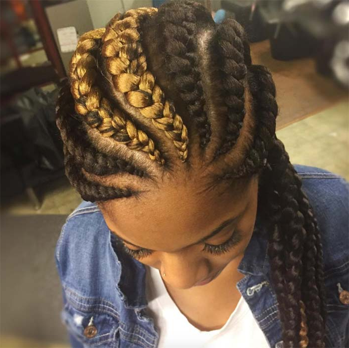 53 Goddess Braids Hairstyles – Tips On Getting Goddess Pertaining To Most Popular Golden Swirl Lemonade Braided Hairstyles (View 15 of 25)