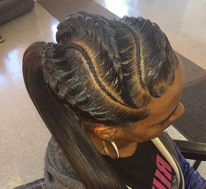 53 Goddess Braids Hairstyles – Tips On Getting Goddess With Regard To Most Popular Long And Big Cornrows Under Braid Hairstyles (View 6 of 25)