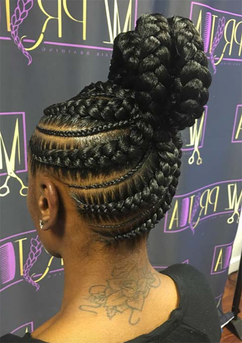 53 Goddess Braids Hairstyles – Tips On Getting Goddess With Regard To Recent Long And Big Cornrows Under Braid Hairstyles (View 11 of 25)