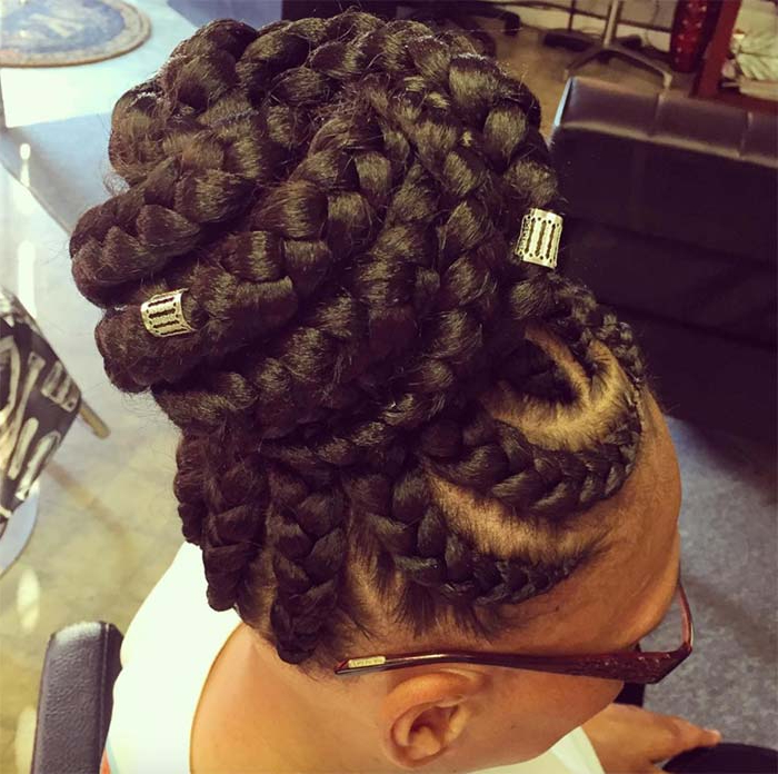 53 Goddess Braids Hairstyles – Tips On Getting Goddess Within Recent Goddess Braided Hairstyles With Beads (View 16 of 25)