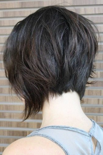 55 Best Short Haircuts 2019 – Quick & Easy To Style Regarding 2018 Short Stacked Bob Micro Braids (View 22 of 25)