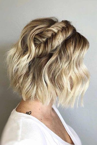 55 Best Short Haircuts 2019 – Quick & Easy To Style Throughout Latest Layered Bob Braid Hairstyles (View 21 of 25)